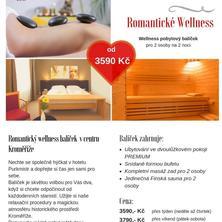 Hotel PURKMISTR-Kroměříž-pobyt-Romantický Wellness balíček v Kroměříži