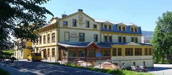 Hotel a Penzion Praděd Thamm Zlaté Hory