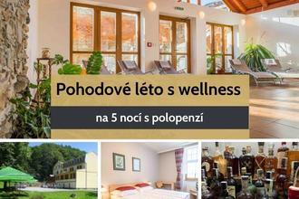Zlaté Hory-pobyt-Pohodové léto s wellness a polopenzí na 5 nocí