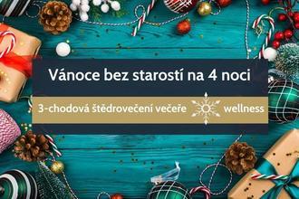 Zlaté Hory-pobyt-Vánoce bez starostí na 4 noci