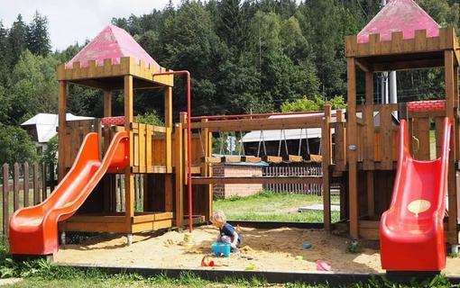 Hotel Kempa dětské hřiště