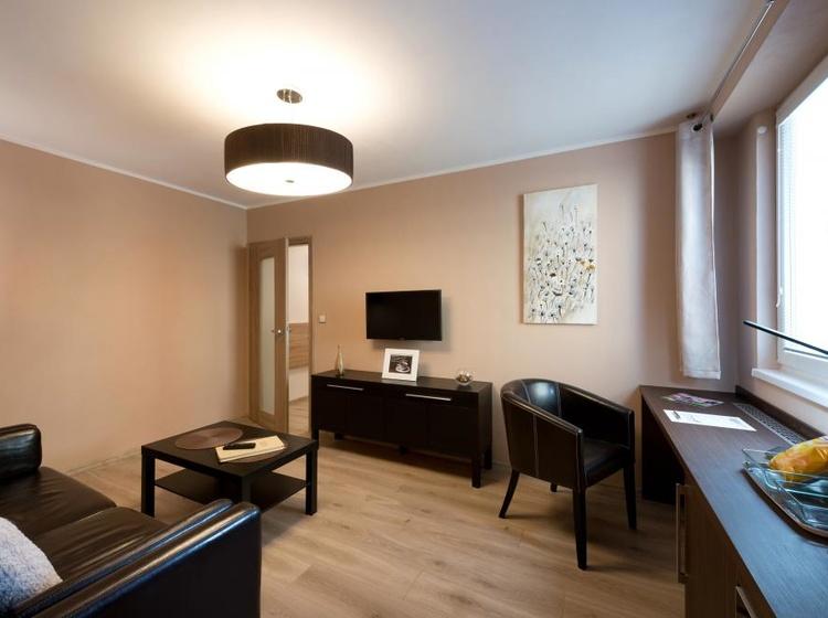 Obývací pokoj Apartmá A4