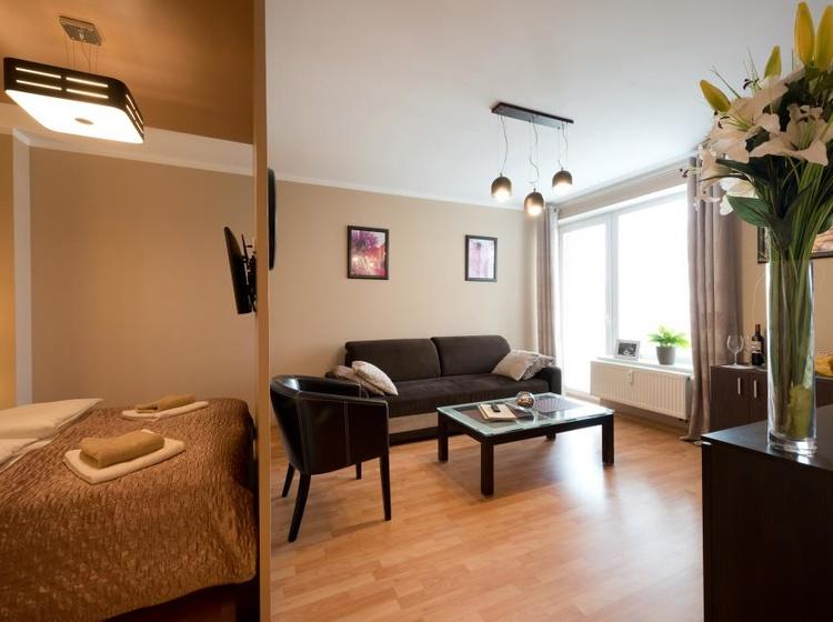 Obývací pokoj Apartmá A1