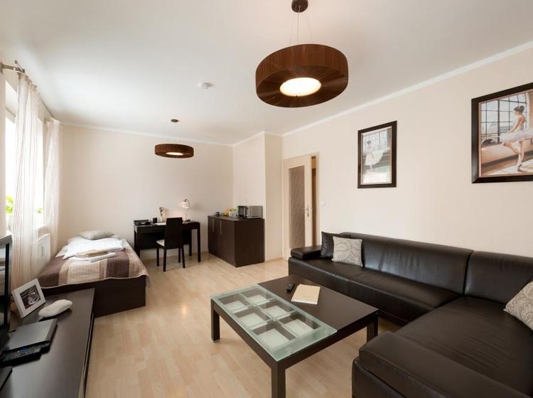 Obývací pokoj Apartmá A2