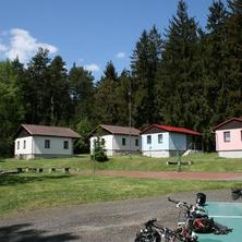 Chatová osada nad Rybníkem Plánice