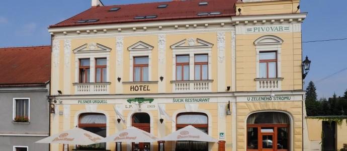 Hotel U Zeleného stromu Nepomuk