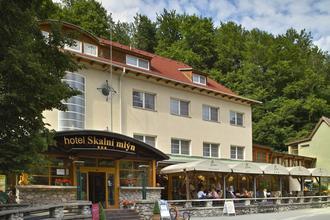 Blansko-Hotel Skalní mlýn