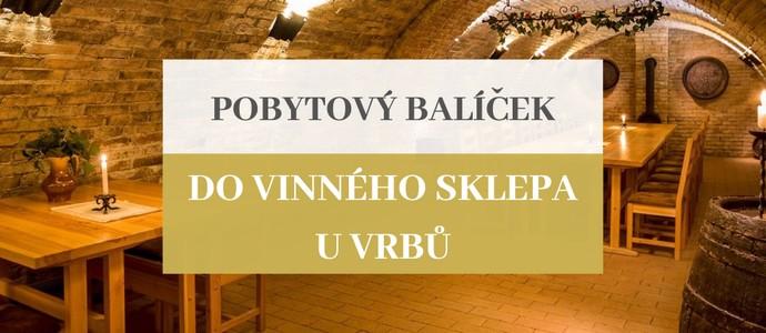 Penzion a vinařství U Vrbů-Hustopeče-pobyt-Do vinného sklepa na 2 noci