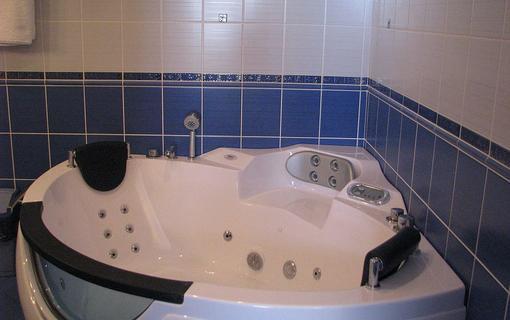 Hotel Mesit Apartmán koupelna