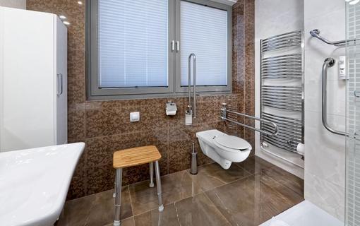 HOTEL AURA PRAHA design & garden wellness pool Koupelna