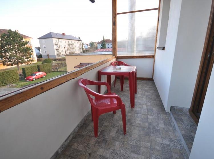 Balkon pokoj č. 1