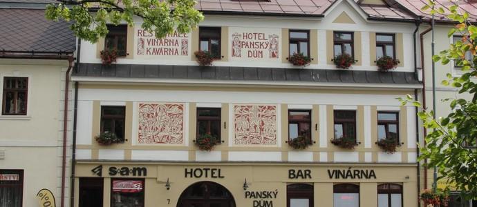 Hotel PANSKÝ DŮM Nové Město na Moravě