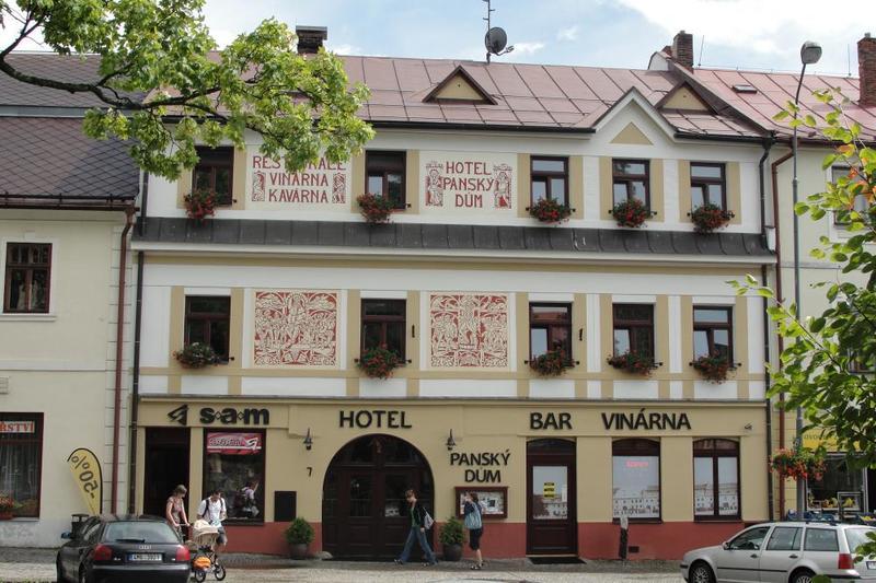 Hotel PANSKÝ DŮM 1