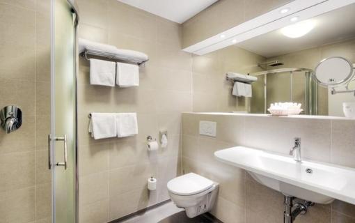 Hotel LEV Lovosice koupelna