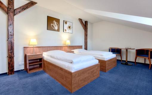 Hotel LEV Lovosice Dvojlůžkový standart twin