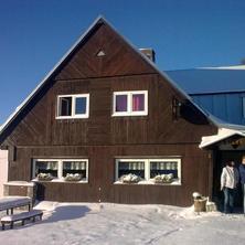 Lednová nádhera na Horské boudě Míla v Krkonoších