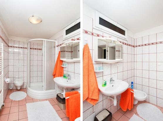 Ubytování v Brně Koupelna s WC na pokoji pokoj č.3