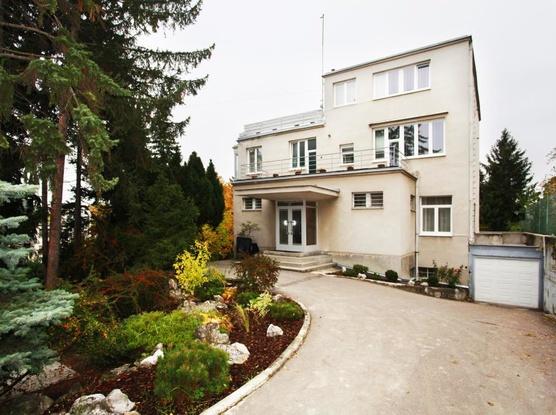Ubytování v Brně Pohled z ulice
