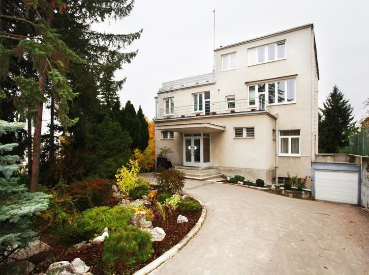 Ubytování v Brně Pohled z ulice 2