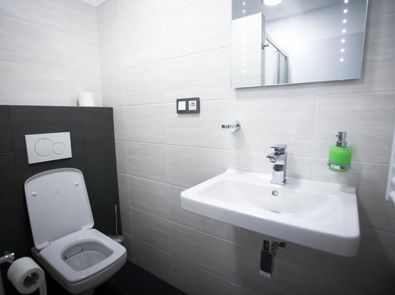 Ubytování v Brně koupelna pokoj 1 a 2
