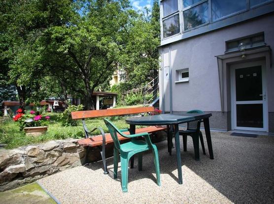 Ubytování v Brně Posezení na zadradě