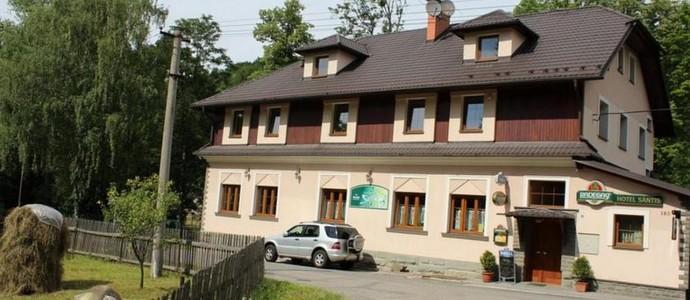 Säntis Hotel Komorní Lhotka