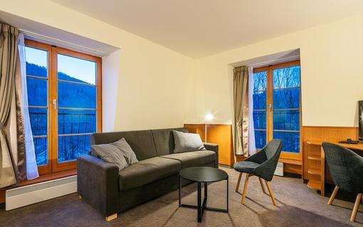 Hotel Ostrov Dvouůžkový pokoj Standard s přistýlkami