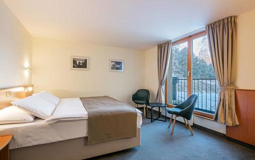 Hotel Ostrov Bezbariérový dvoulůžkový pokoj