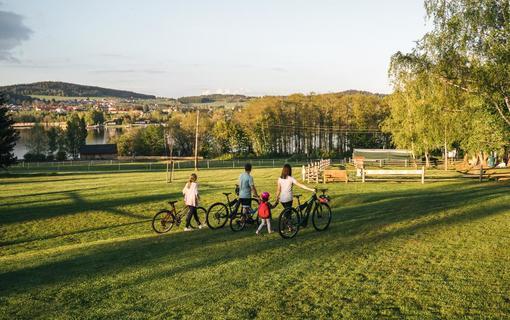 Aparthotel & Wellness Knížecí cesta Cyklostezky hned u areálu
