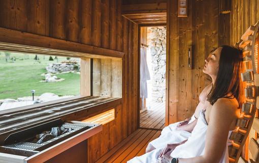 Aparthotel & Wellness Knížecí cesta Finská sauna