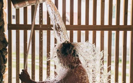 Aparthotel & Wellness Knížecí cesta Ochlazení po sauně