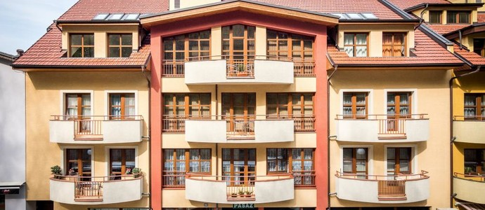 Apartmány Kolonáda Luhačovice