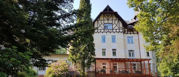 WELLNESS HOTEL VILLA GROHMANN Lipová-lázně