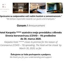 Hotel Karpatia Humenné 1117279970