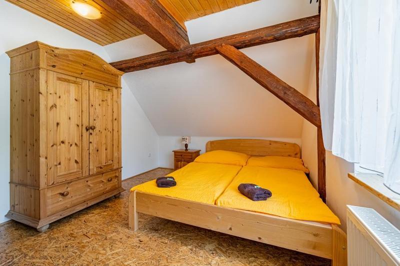Apartmán č. 1 (6-lůžkový, 2 pokoje)