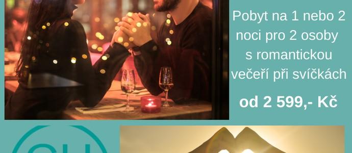 Hotel Chvalská Tvrz -Praha-pobyt-Romantický pobyt