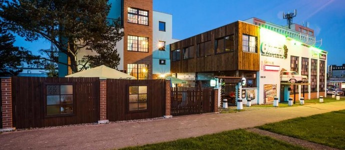 Retro hotel Garage Ostrava