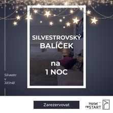 Hotel reStart-Jičín-pobyt-Silvestrovský balíček 1 noc