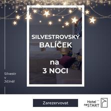 Hotel reStart-Jičín-pobyt-Silvestrovský balíček 3 noci