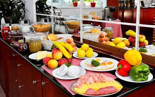 Hotel Lenka snídaně