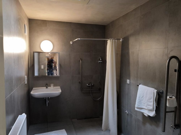 Barrier-free bathroom equipment