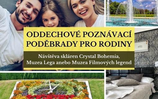 Oddechové poznávací Poděbrady pro rodinu na 3 noci-Penzion Homér Poděbrady 1149426801