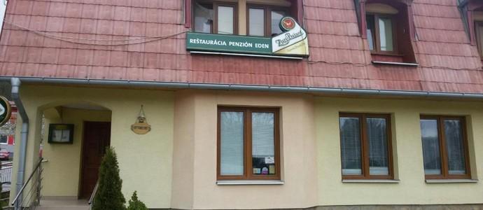 Reštaurácia a penzión Eden Hanušovce nad Topľou