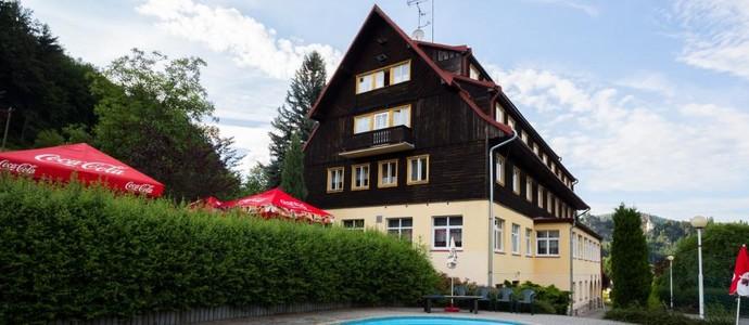 Hotel Kavka Malá Skála