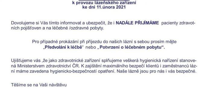 Lázeňský dům Libuše Lázně Kynžvart 1143631883