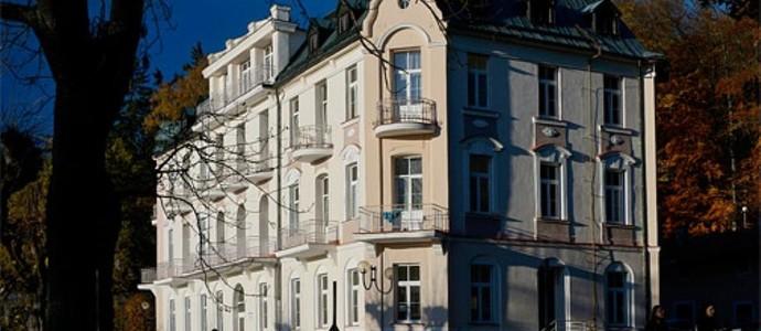 Lázeňský dům Záboj Lázně Kynžvart