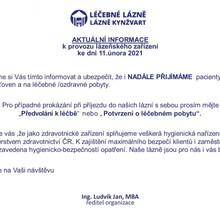 Lázeňský dům Záboj Lázně Kynžvart 1143630883