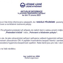 Lázeňský dům Praha Lázně Kynžvart 1156364587