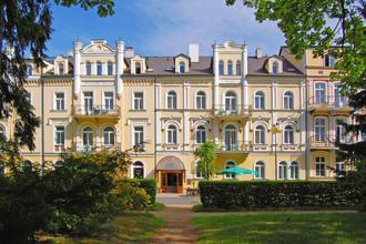 Františkovy Lázně-Lázeňský dům Erika