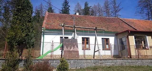 Chalupa na samotě v Pošumaví Nalžovské Hory